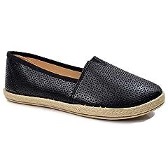 f62d91ddf Steven Ella Lauren Comfort Slip-On Espadrille Close Toe Flats