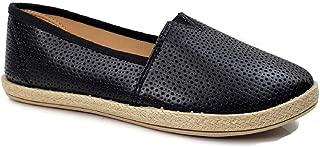 Steven Ella Lauren Comfort Slip-On Espadrille Close Toe Flats