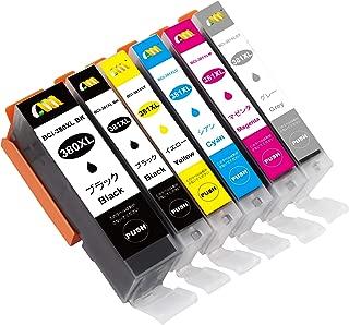 CMCMCM キヤノン 用 BCI-381+380/6MP 大容量 互換インク BCI-381(BK/C/M/Y/GY)+380XL(PGBK) 6色セット 対応機種:PIXUS TS8130 TS8230 ICチップ付(残量表示可能)