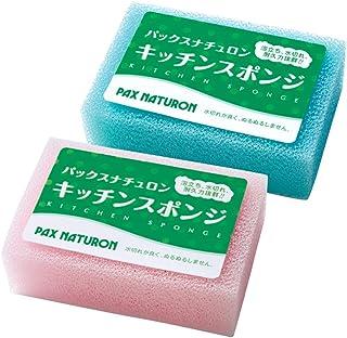 パックスナチュロン キッチンスポンジ 1個 (カラーアソート) 食器用スポンジ