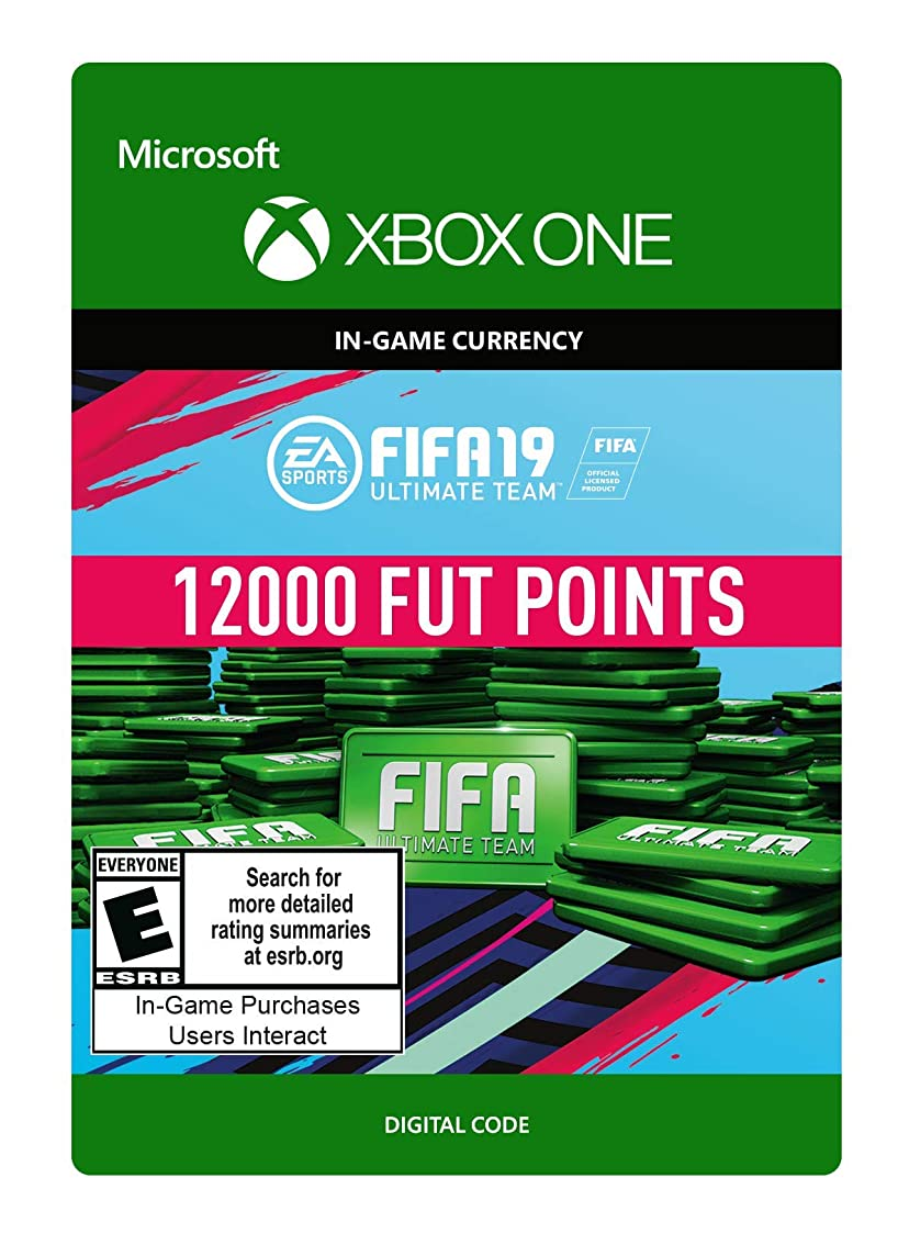 FIFA 19: ULTIMATE TEAM FIFA POINTS 12000 - Xbox One [Digital Code]