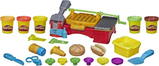Play-Doh Kitchen Creations Cookout Creations Play Food Barbecue Toy with 5 Non-Toxic Colors, 2 Oz Cans, Brown (Amazon Exclusive)