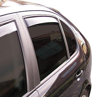Generico Set DEFLETTORI Antivento Auto Compatibile con Opel MERIVA B 5P 10-14 PARAVENTO Anti Vento Acqua Turbo Fume G3