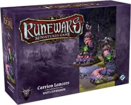 Fantasy Flight Games Runewars Carrion Lancers Unit Expansion Pack Miniatures Game Miniatures Game