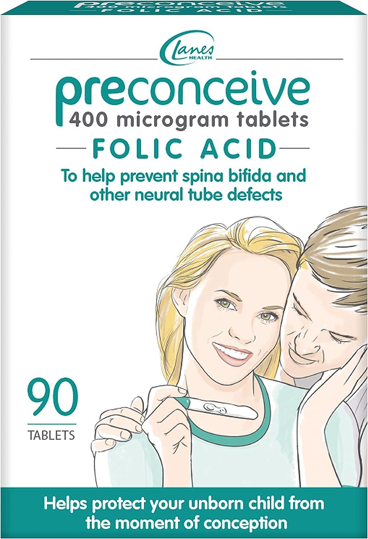Preconceive Omaha High order Mall Tablets Folic 90 Acid