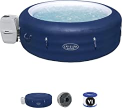 Lay-Z-Spa Saint Tropez Hot Tub with 140 Airjet Massage System with Floating LED light. Includes optional Wi-Fi control wit...