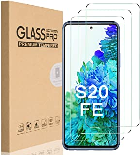 [3 Pack] for Samsung Galaxy S20 FE / S20 FE 5G Screen Protector, HEYUS 9H Hardness Premium Tempered Shatterproof Glass Scr...