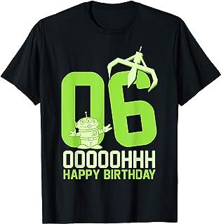 Disney Pixar Toy Story Aliens OOOOH Happy 6th Birthday T-Shirt
