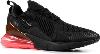 Nike Men's Air Max 270, Black/Black-HOT Punch