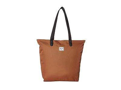 Herschel Supply Co. Mica (Saddle Brown/Black) Tote Handbags
