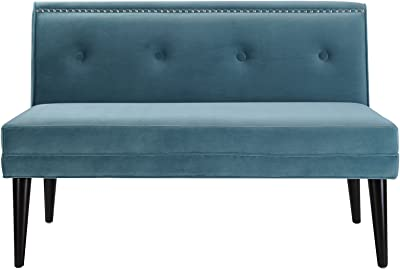 Sandy Wilson Home S61150-894 Madison Sofa, Arctic Blue