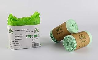 Bolsa de basura ecológica 100% biodegradable BIOARK, 10