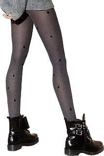 Ladies 40 120 Denier Black Cat Full Leg Tights Stocking Tops Kitten Kitty Cute