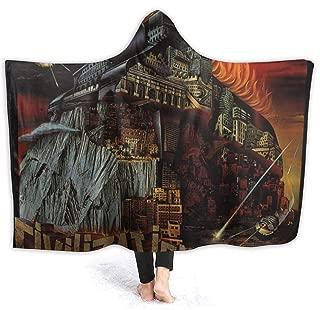 MAJJAKJH-id Blanket Hoodie Frank Zappa Civilization Phaze III Adults and Children Blanket Blanket, Soft Cape, Shawl Wrap