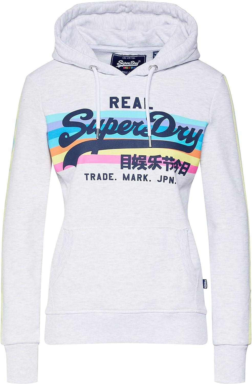 Superdry VL Retro Rainbow Hood