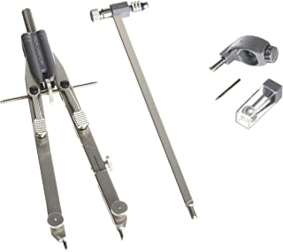 Faber Castell - 174607 - Compasso Balaustrone Tech a regolazione rapida in metallo aste snodabili L