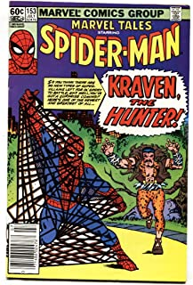 Marvel Tales #153 1983- Amazing Spider-man #15 1st Kraven reprint VF