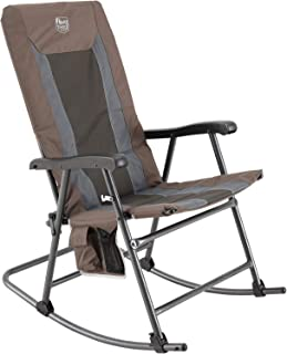 TIMBER RIDGE Foldable Padded Rocking Chair for Outdoor, High Back and Heavy Duty, Portable for Camping, Patio, Lawn, Garde...
