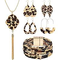 Filluck Leopard Jewelry Set