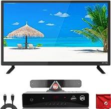 $134 » ATYME 24-Inch 720p 60Hz LED HD TV (240AH5HD) Lightweight Slim Built-in with HDMI, USB, VGA, High Resolution Bundle with Ci...