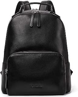 BOSTANTEN Genuine Leather Backpack Purse for Women Travel Large College Shoulder Bag