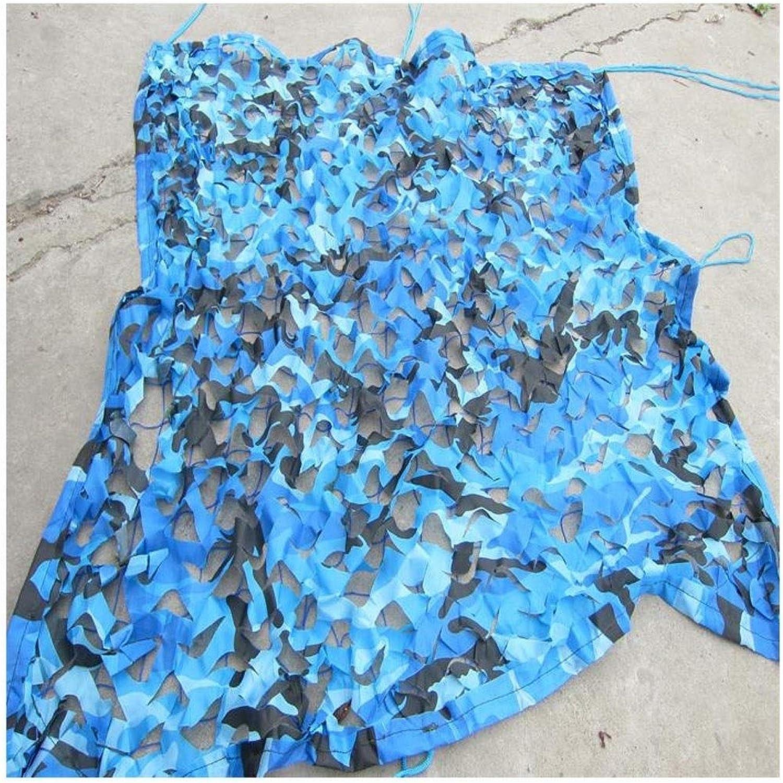 LLGBD Garten Markise Blau Ocean Tarnnetz Tarnnetz Schwimmbad Sonnenschutznetz Wanddekoration Netz Auenplane (Größe   8m10m)