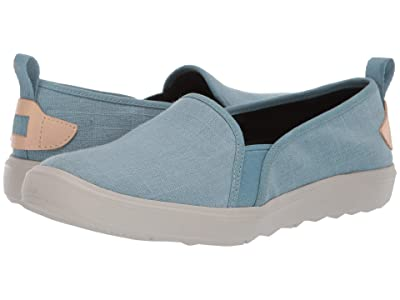 Merrell Around Town Ada Moc Canvas (Blue Smoke) Women