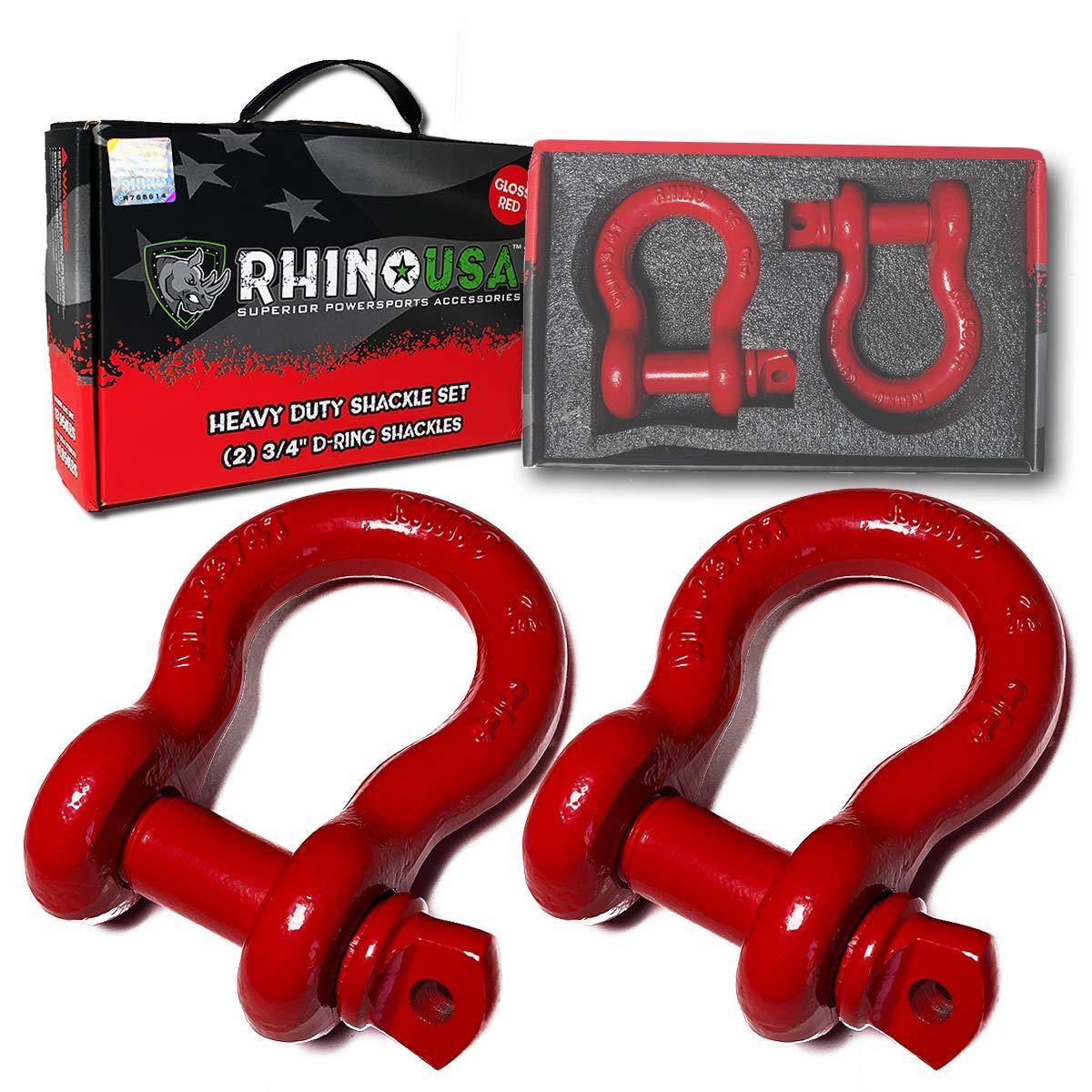 Rhino USA Shackle 850lb Strength