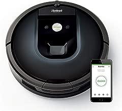 iRobot Roomba 981 Robot Elektrik Süpürgesi, Plastik, Siyah