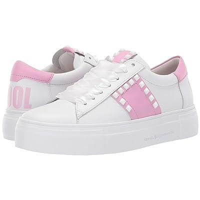 Kennel & Schmenger Big Stay Cool Sneaker (Bianco Calf/Pastel Pink Nappa) Women