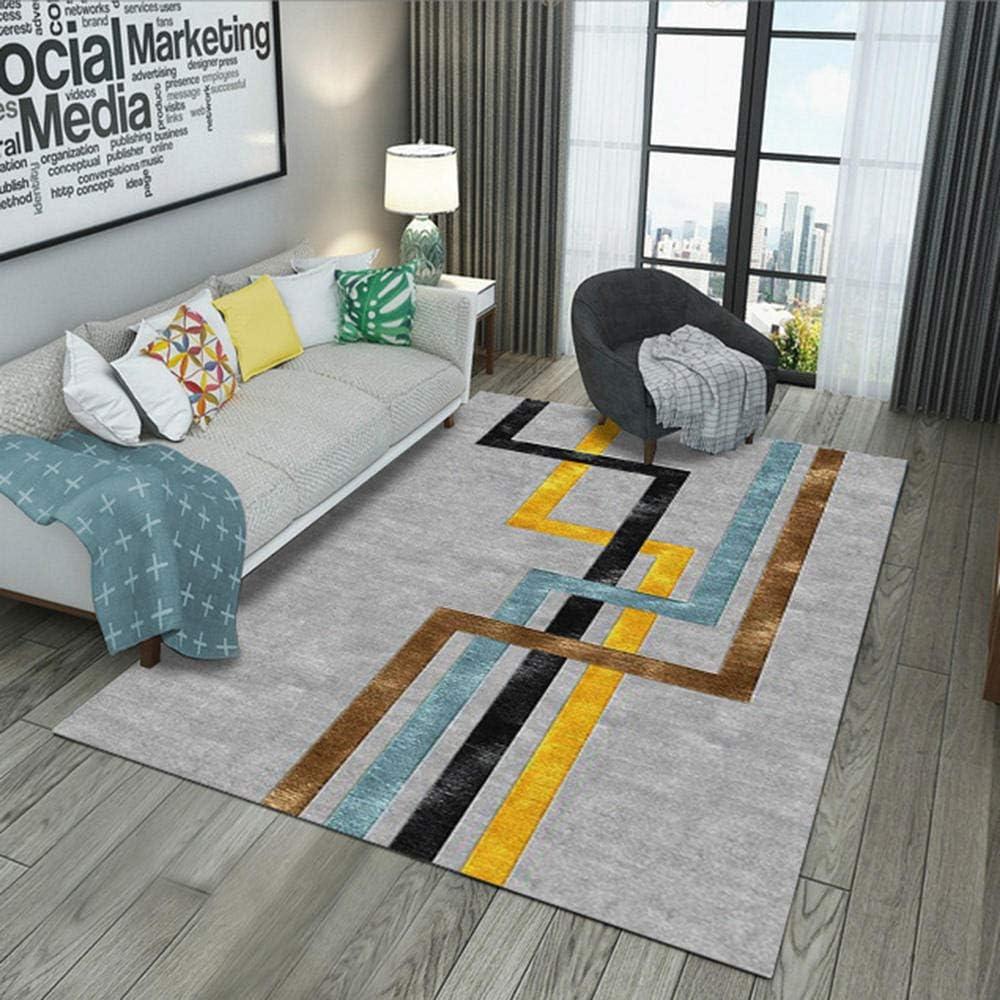 Modern Living Room Grey Area Rug Fluff, Bedroom Bed Rug Apartment