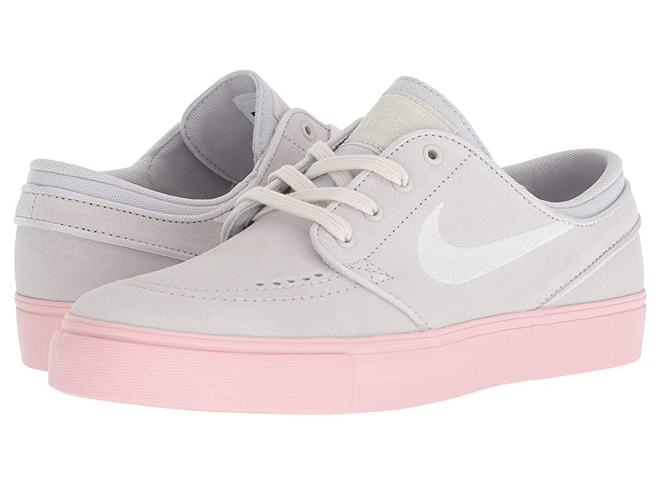 Nike SB Kids Stefan Janoski (Big Kid) (Vast Grey/Phantom/Bubble Gum/White) Kids Shoes