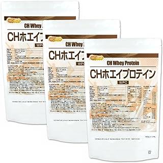CH ホエイプロテイン 1kg×3袋 プレーン味 WPC アミノ酸スコア100 NICHIGA(ニチガ)