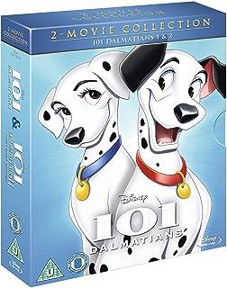 101 Dalmatians + 101 Dalmatians 2: Patch's London Adventure | 2- Disc Box Set | Blu-ray | Arabic & English