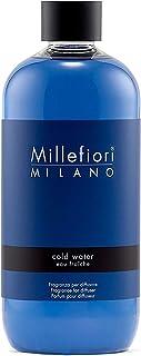 Millefiori Milano Ricarica per Diffusore di Aromi per Ambiente, Fragranza, Cold Water, 500 ml