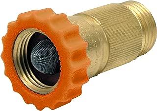 LASCO RV520 Brass Water Pressure Regulator Female Hose Thread by Male Hose Thread, 3/4