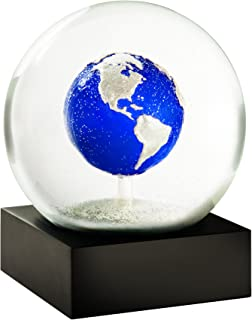 CoolSnowGlobes Big Blue Marble Planet Earth Cool Snow Globe