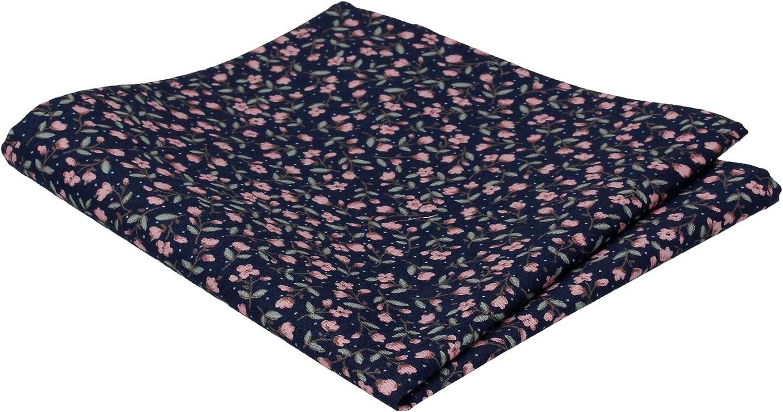 Mrs Bow Tie Ashington Floral Pocket Square, Handkerchief