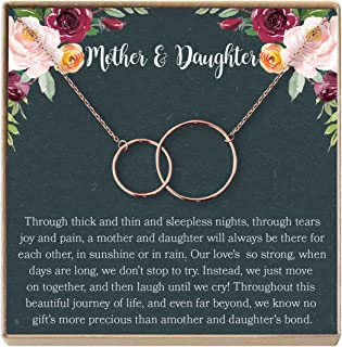 Best mother daughter birthstone necklace Reviews