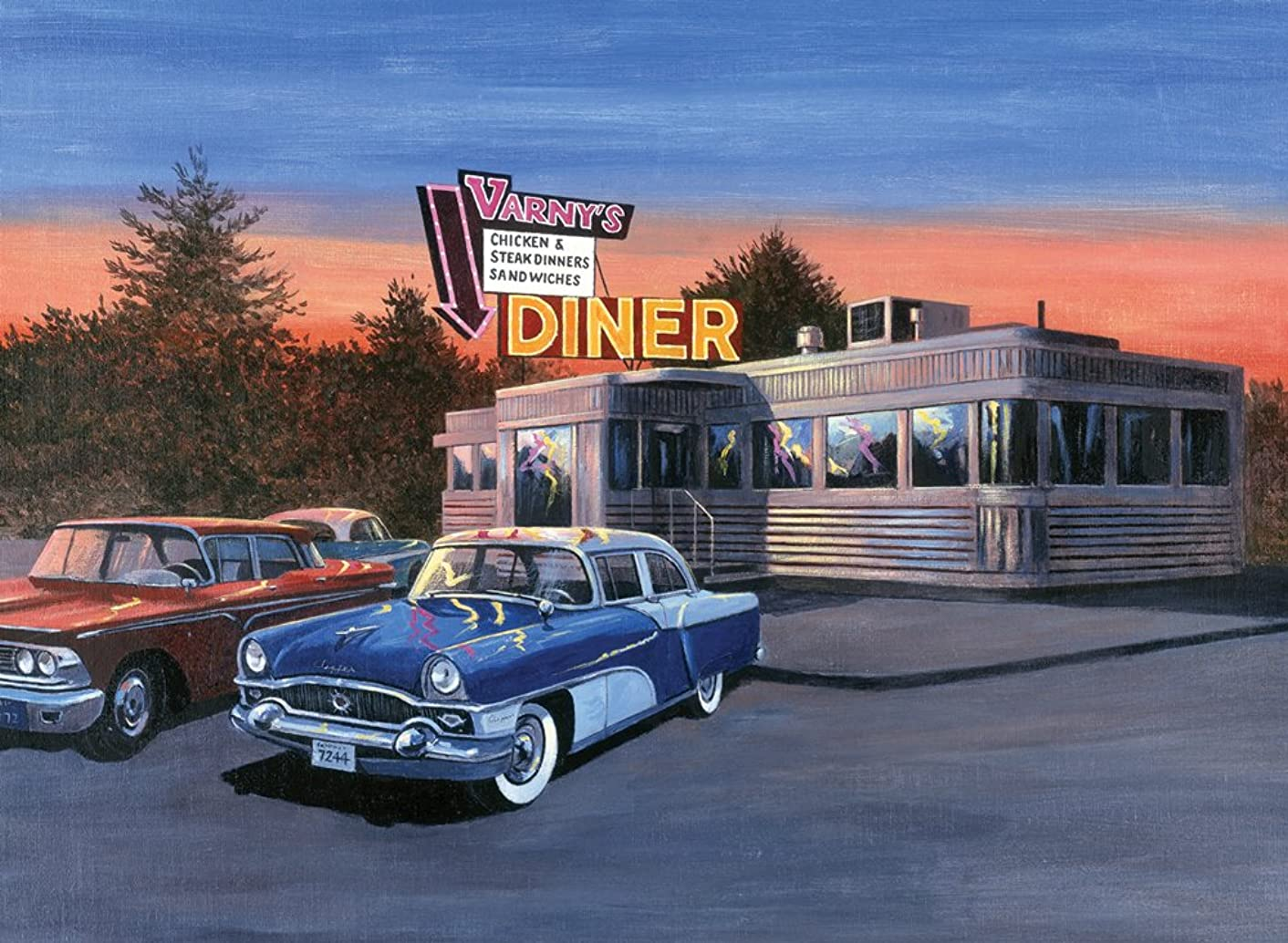 Royal & Langnickel ROYPAL.28 Paint By Number Adult 50s Diner