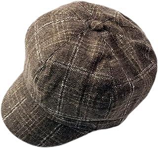 56572863537 ZLSLZ Womens Woolen Tweed IVY British newsboy Cabbie Gatsby Beret Painter Hat  Cap