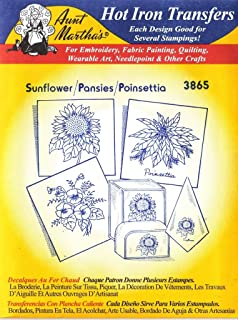 Best sunflower iron on transfers Reviews