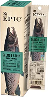 Sponsored Ad - EPIC Smoked Salmon Strips, 10 Count Bo x0.8oz strips
