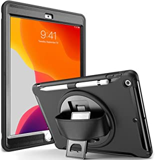ProCase iPad 10.2 Case 2020 8th Generation / 2019 7th Generation iPad Case, Rugged Heavy Duty Shockproof Cover Case with H...