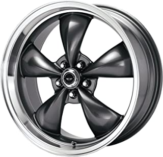 American Racing Custom Wheels AR105 Torq Thrust M Anthracite Wheel With Machined Lip (17x7.5