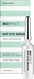 Best BIOEFFECT EGF Eye Serum with De-Puffer Rollerball, Anti-Aging Corrective, Lifting and Moisturizing Contour Gel, Reduce Under-Eye Bags, Wrinkles, Puffiness, Fine Lines with Barley Growth Factor Protein Review