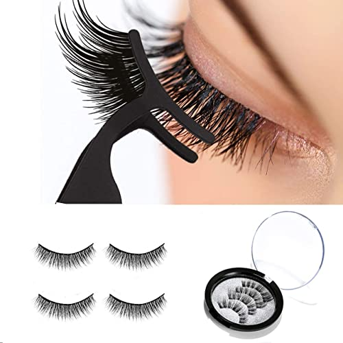 53aa06391e2 Keelyn Magnetic Eyelashes – Natural Look 3 Magnets Lashes for Full Eye  Covered, 0.2mm