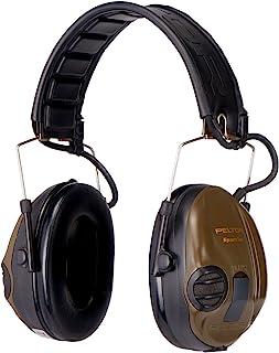 3M Peltor SportTac - Casque anti-bruit - Protection auditive pour la chasse contre les bruits de fusil - Atténuation 26 dB...