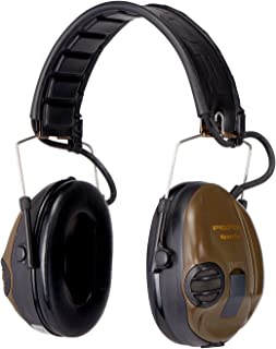 Peltor SportTac Electronic Level Dependent Ear Defenders (MT16H210F-478-GN)
