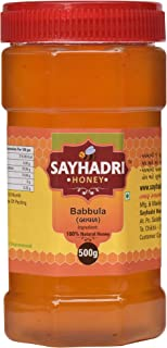Sayhadri Babul(Acacia) Honey.100% Pure Natural Raw Organic Unprocessed Honey(Ayurvedic Medicine)-500gm Pack.